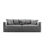 Le Grand Air 3-setersofa fløyel, Granite