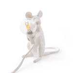 Mouse lamp, sittende