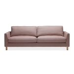 Stay 3-seters sofa, rosa/ask