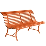 Louisiane sofa 150, carrot