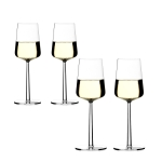 Essence hvitvinglass, 4-pack