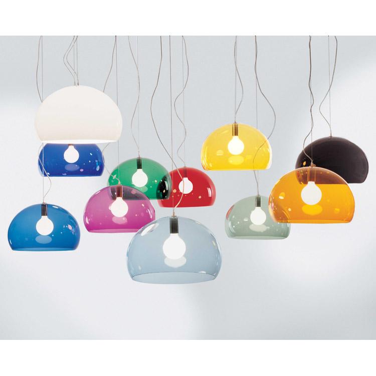 Fl/y taklampe, petroleum blå kartell   kjøp møbler online på room21.no