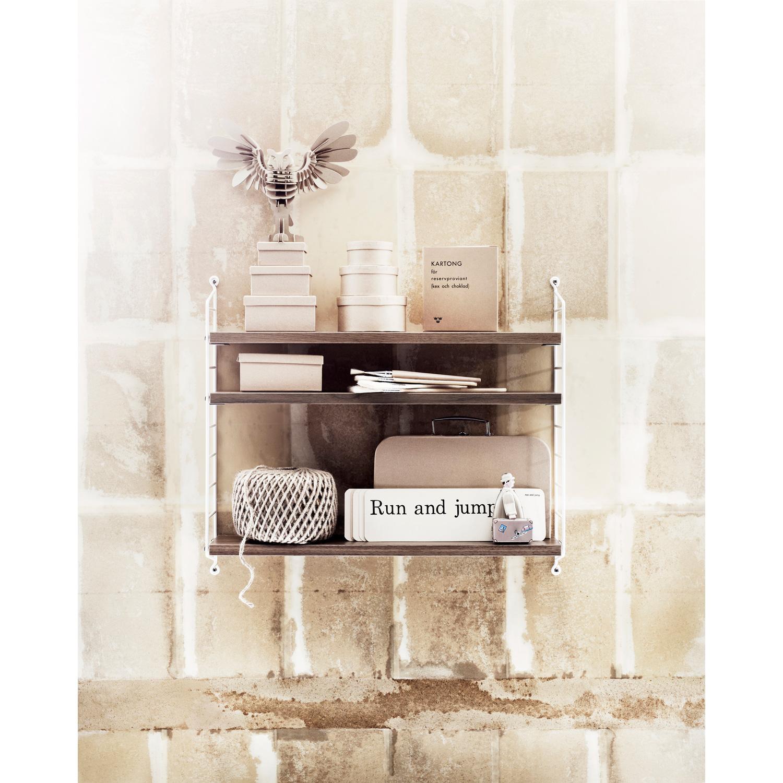 String pocket, valnøtt/hvit string   kjøp møbler online på room21.no