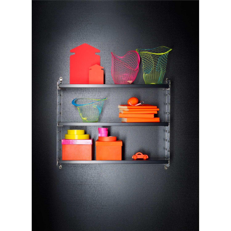 String plex pocket, sort string   kjøp møbler online på room21.no