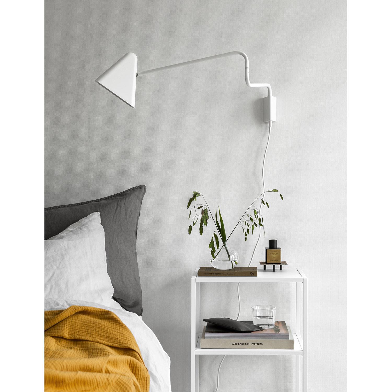 Domo nattbord S, hvit – Domo – Kjøp møbler online pÃ¥ Room21.no