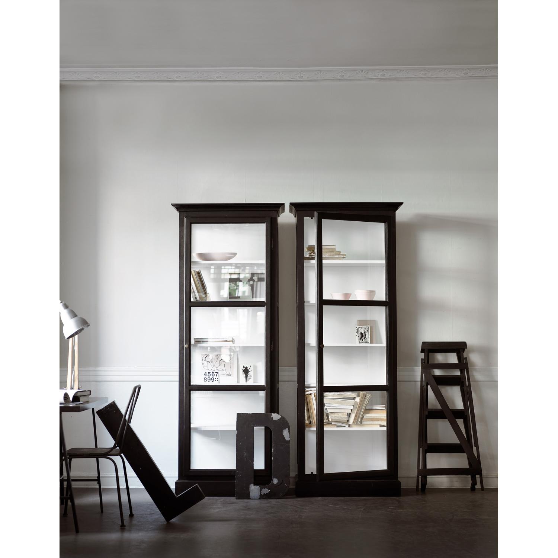 Vitrineskap V1, svart – Lindebjerg Design – Kjøp møbler online pÃ¥ ...
