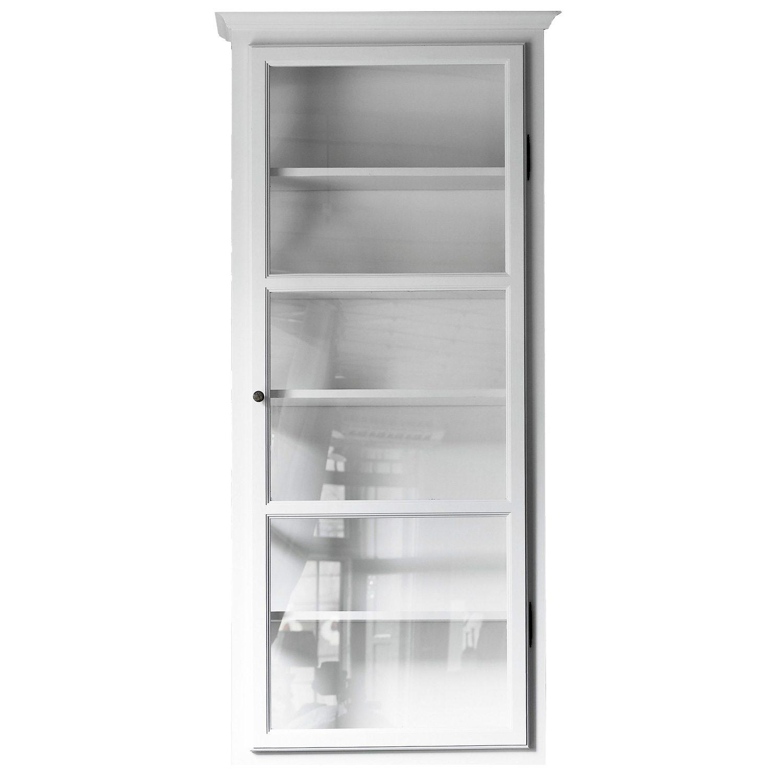 Vitrineskap V4, hvit – Lindebjerg Design – Kjøp møbler online pÃ¥ ...