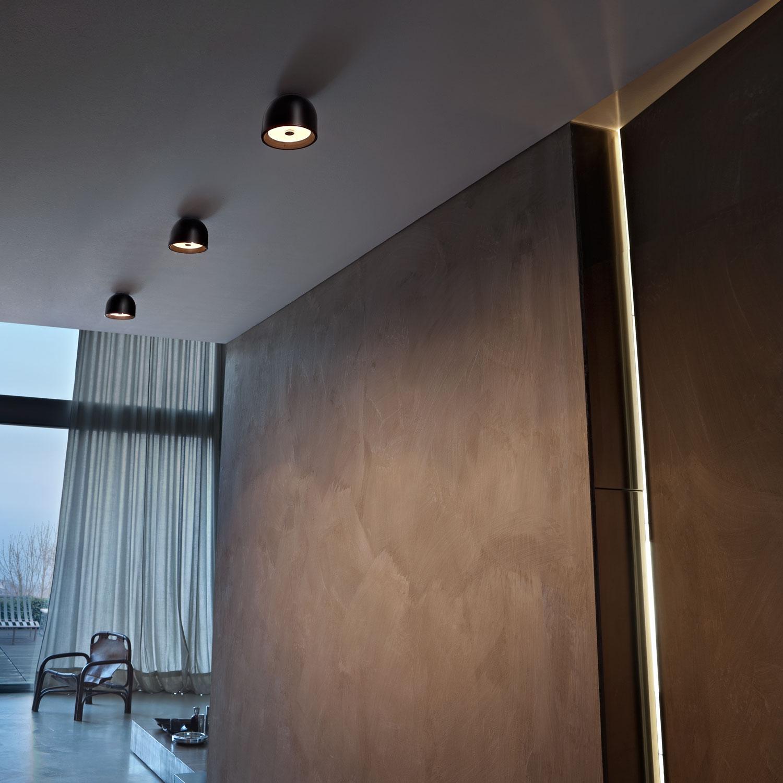 Vegglampe stue: warren vegglampe i sort fra menu rom. dekorativ ...