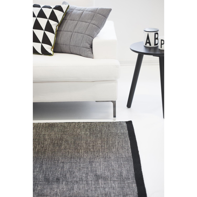 Living møbler: harald teppe x svart hvit. pot potte s, ochre ...