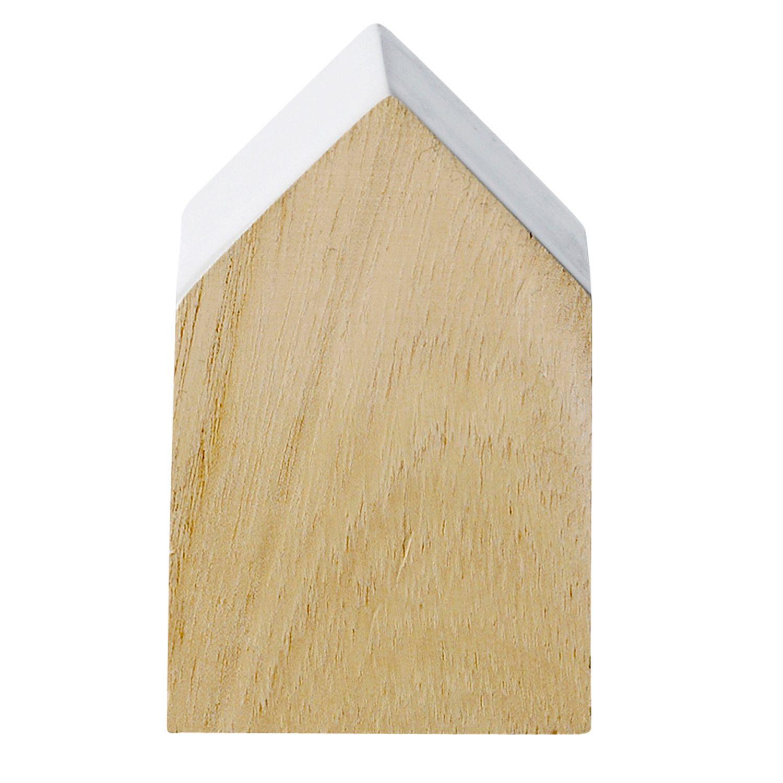 Wood House dekorasjon S, hvit – Bloomingville – Kjøp møbler online ...
