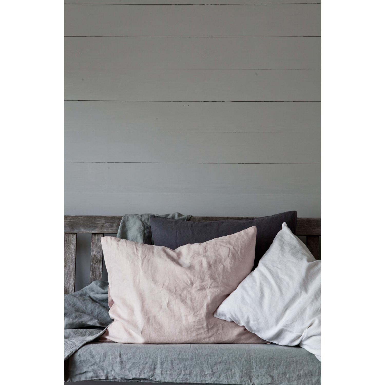 Washed Linen putetrekk 65x65, hvit – Tell Me More – Kjøp møbler ...