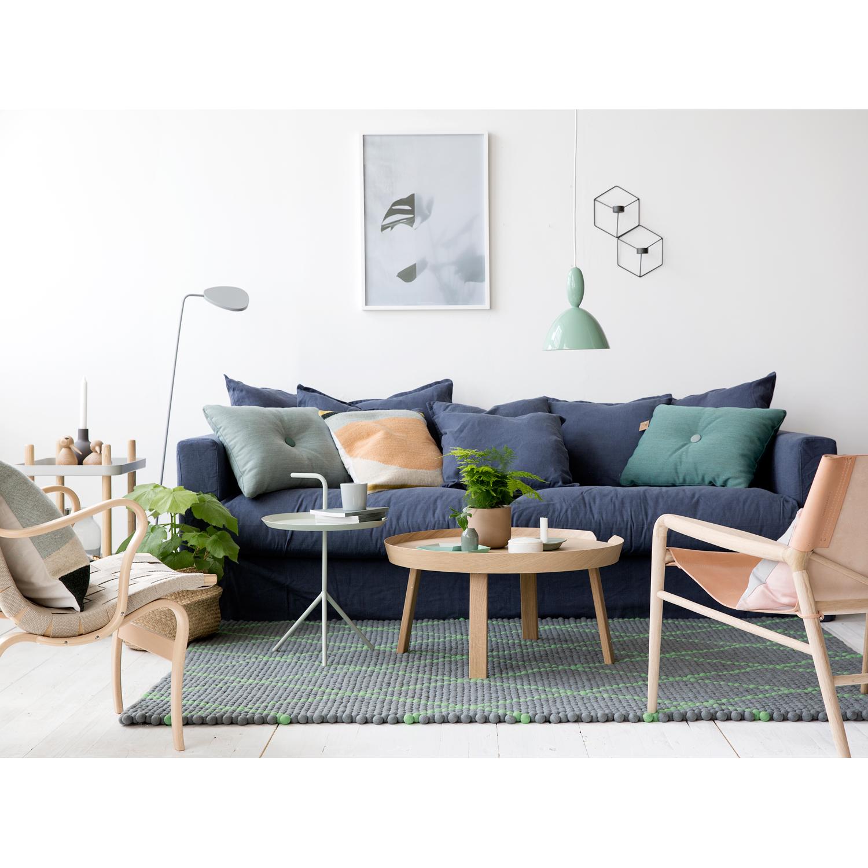 Eksklusive Møbler: Domo round square bord m hvit. Møbel og ...