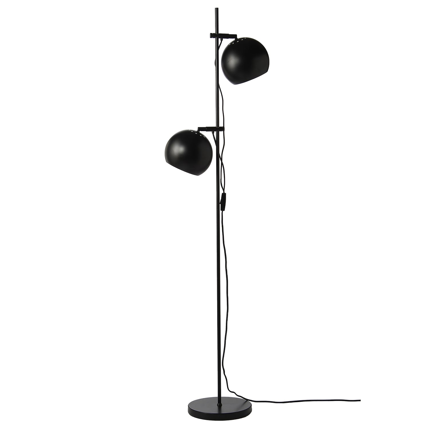 Fifty Fifty Floor Lamp, Soft Black Hay @ Rum21.no