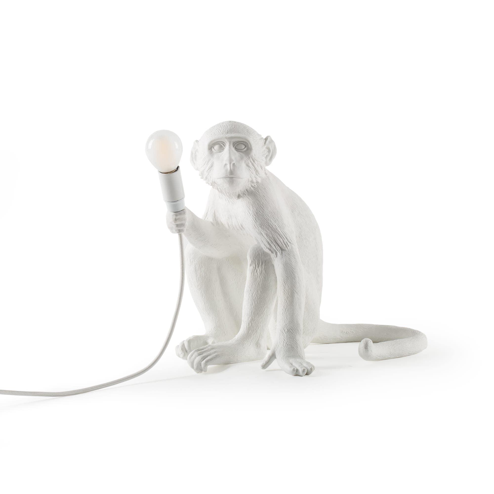 Monkey Lamp Sittende, Hvit Seletti @ Rum21.no