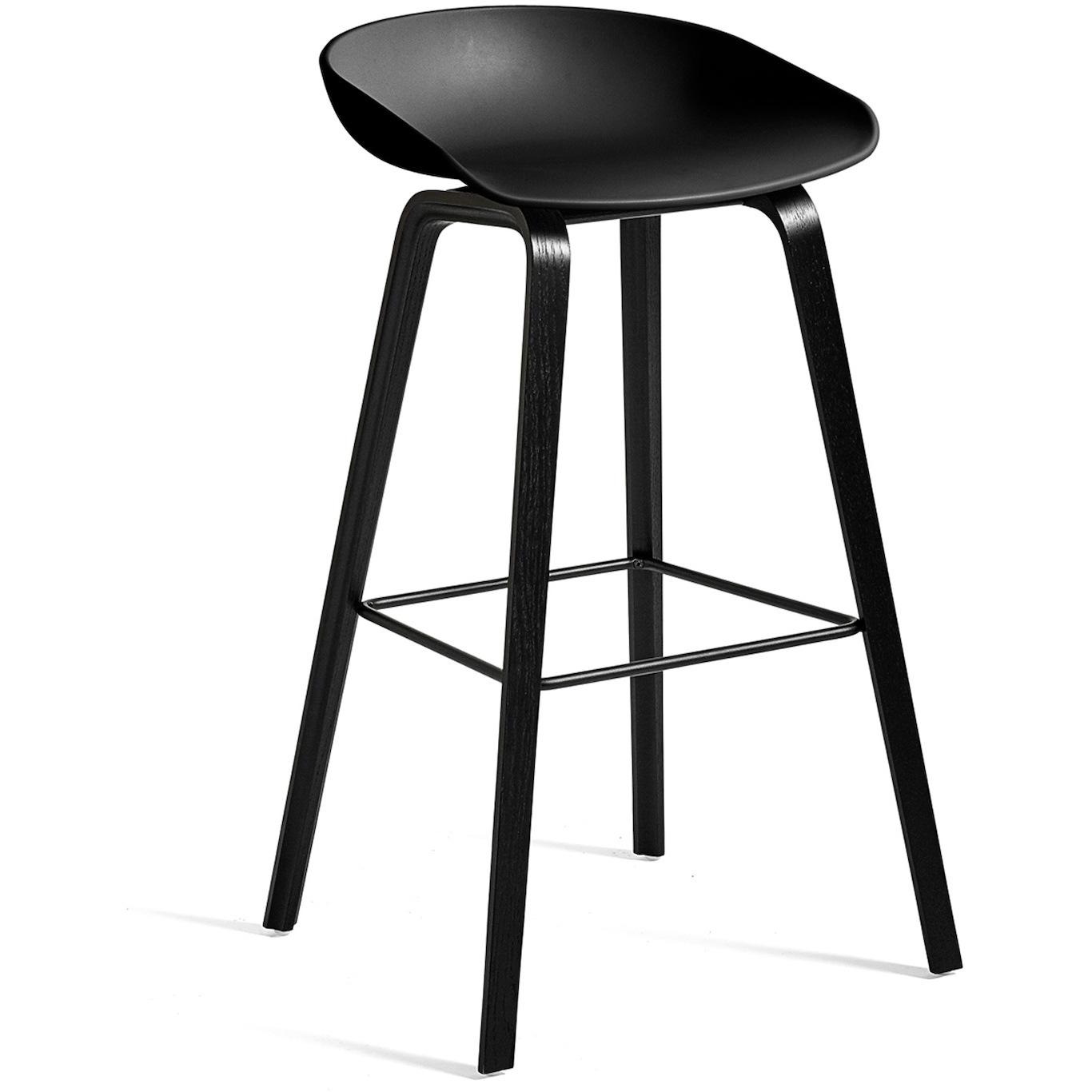 About A Stool 32 Barstol Høy, Sort Hay @ Rum21.no